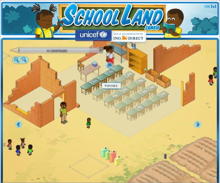 School land desks
