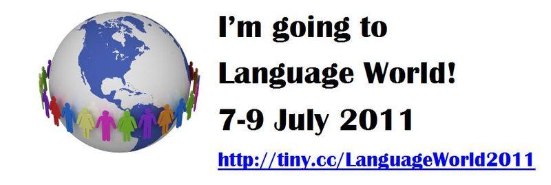 I'm going to Language World1
