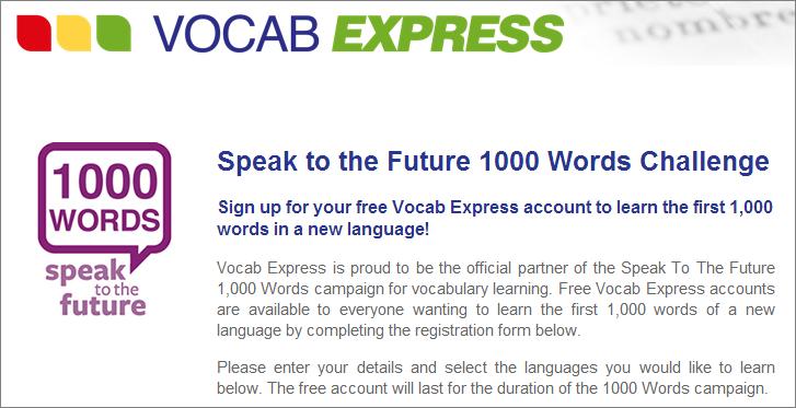Vocab Express 1000 words
